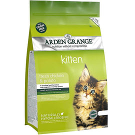 Arden Grange Chicken & Potato Kitten Cat Food 2 Kg - pet-club-india