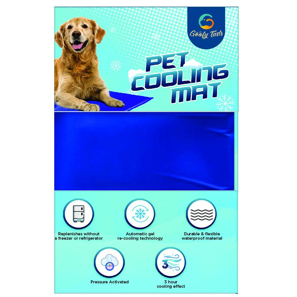 Goofy Tails Comfort Soft Cooling Mat For Dog & Cats - pet-club-india