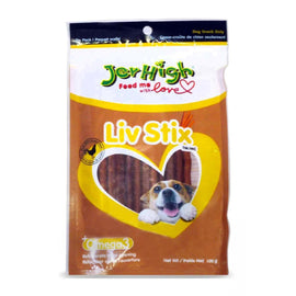 Jerhigh Live Stix Real Chicken Dog Treat 100 g - pet-club-india