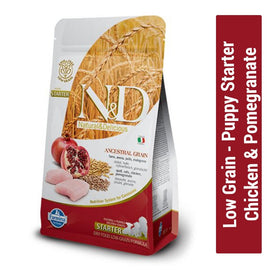 Farmina N&D Low Grain Chicken & Pomegranate Starter Puppy Food - pet-club-india