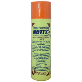 Notix Anti-Tick and Flea Pet Care Powder for Dogs, 100g - pet-club-india