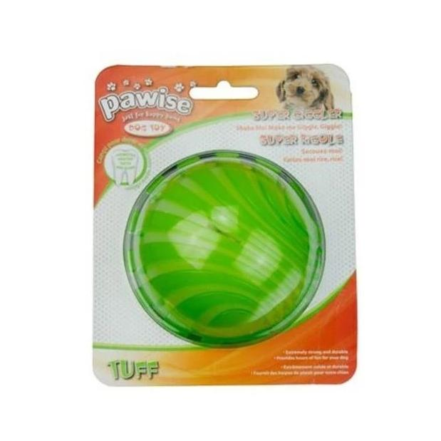 Pawise Super Giggler Dog Toy (8 cm Color May Vary) - pet-club-india