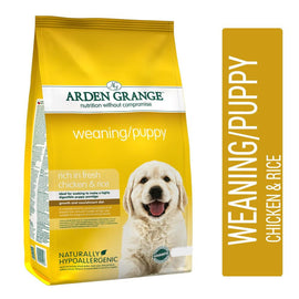 Arden Grange Weaning Puppy Chicken & Rice Dog Food - pet-club-india