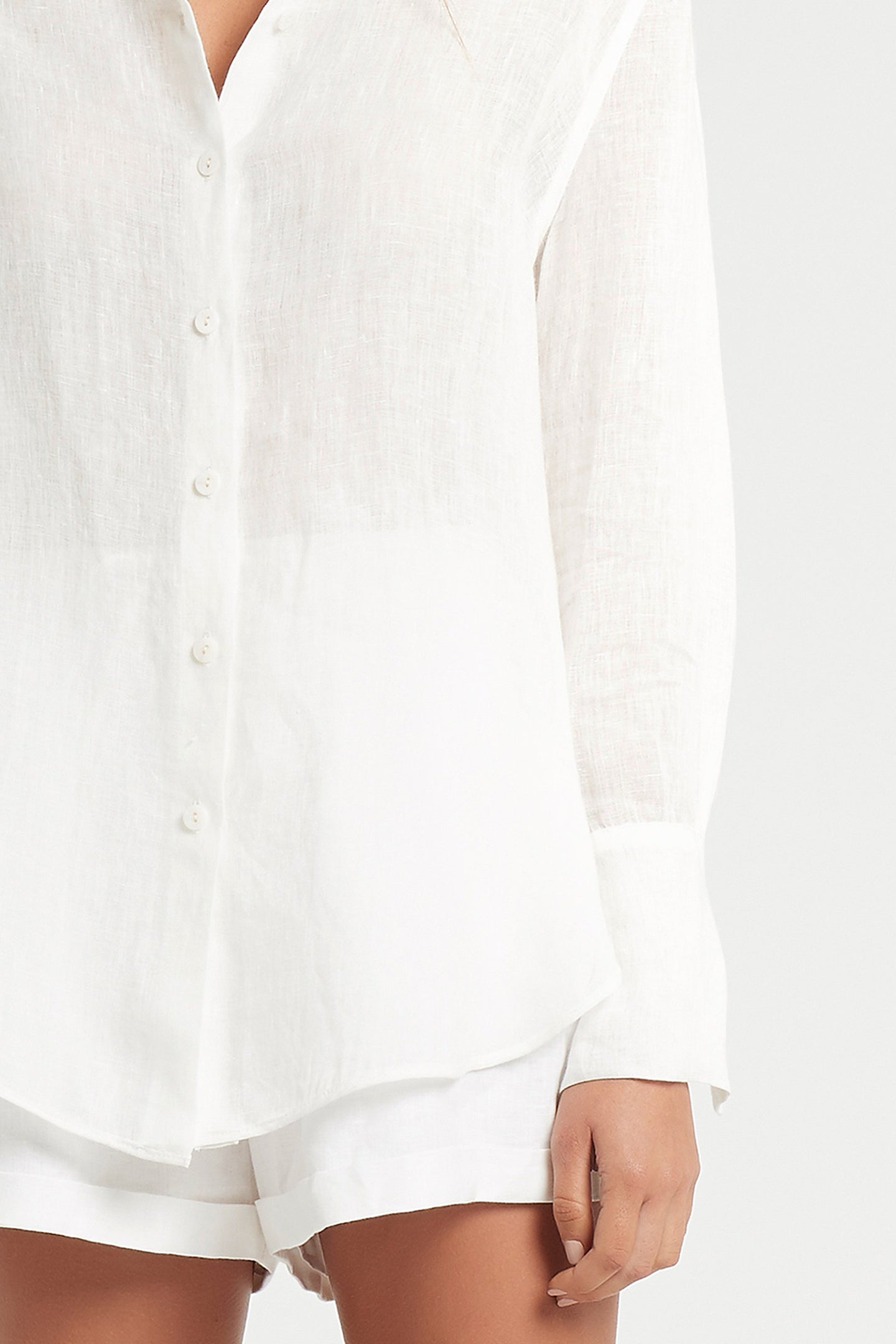SIR the label ANOUK MENS SHIRT WHITE