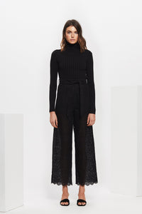 AMELIE EMBROIDERED PANT