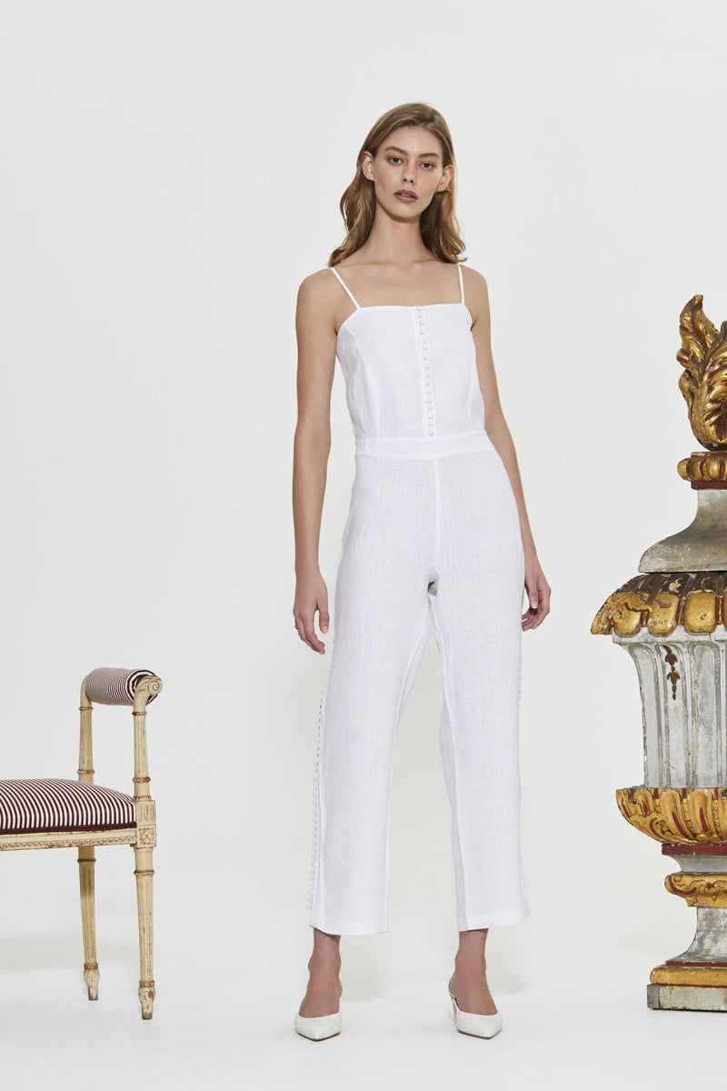 ESTEE EMBROIDERED JUMPSUIT