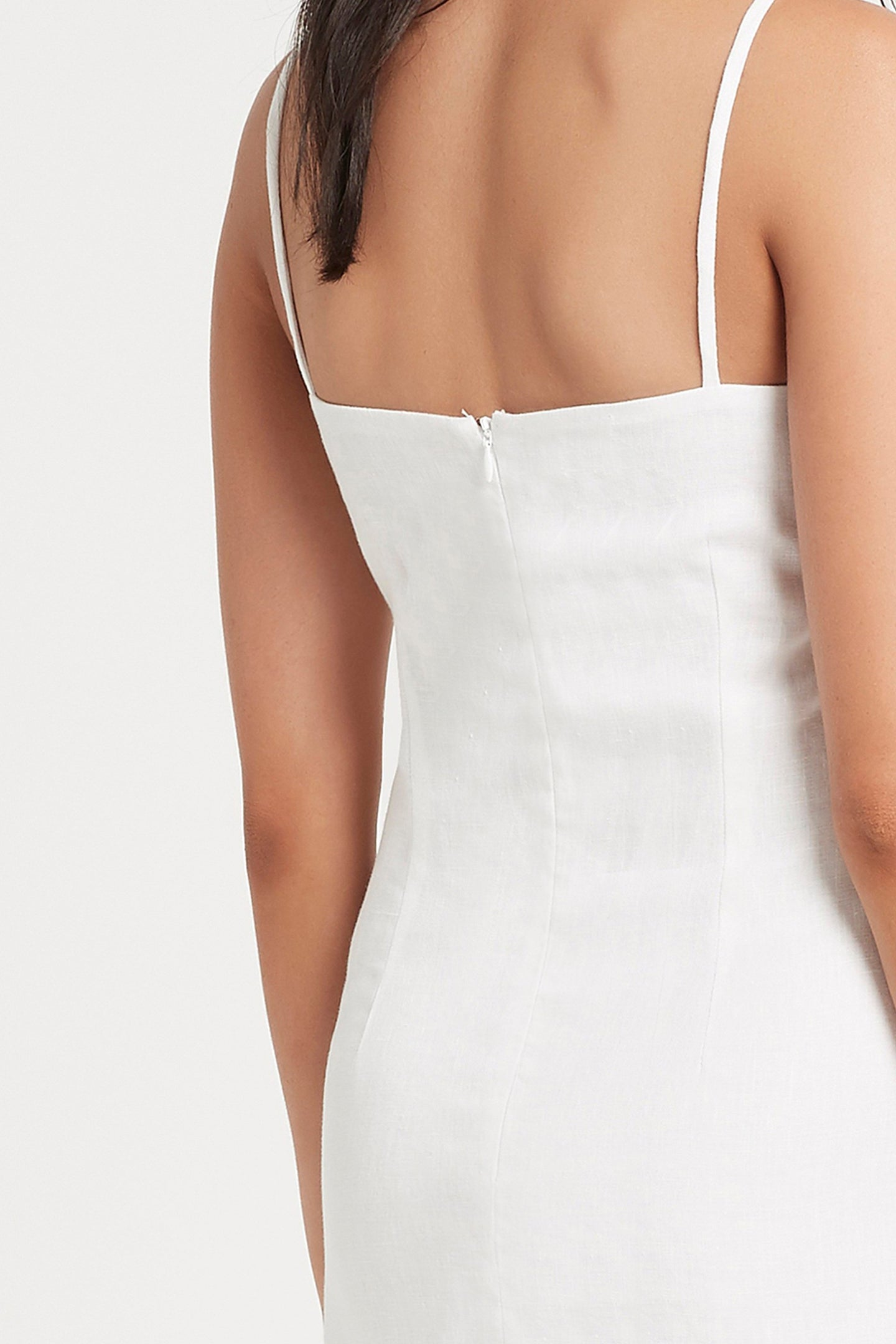 SIR the label INEZ MINI DRESS WHITE
