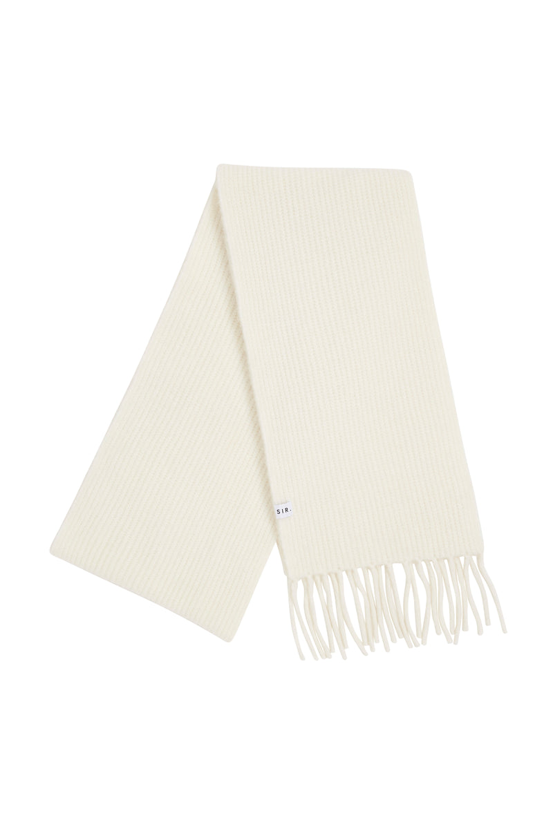 SIR the label FRANCA SCARF IVORY