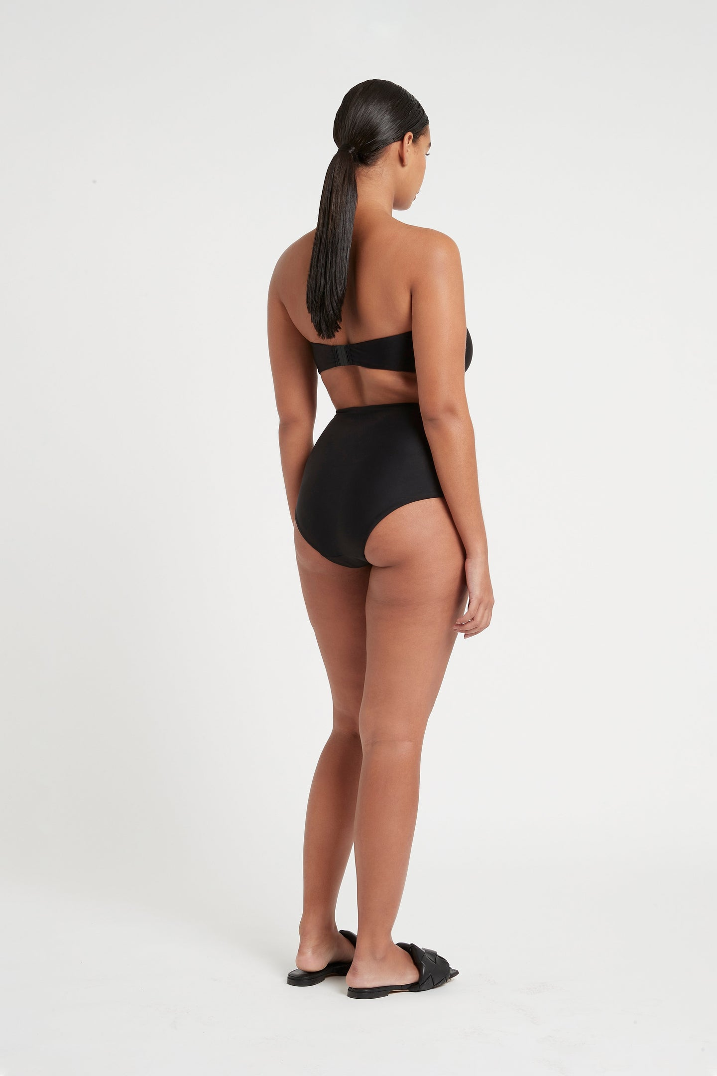 SIR the label HENDRY TIE HIGH WAISTED BRIEF BLACK