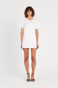 DELILAH WRAP T DRESS
