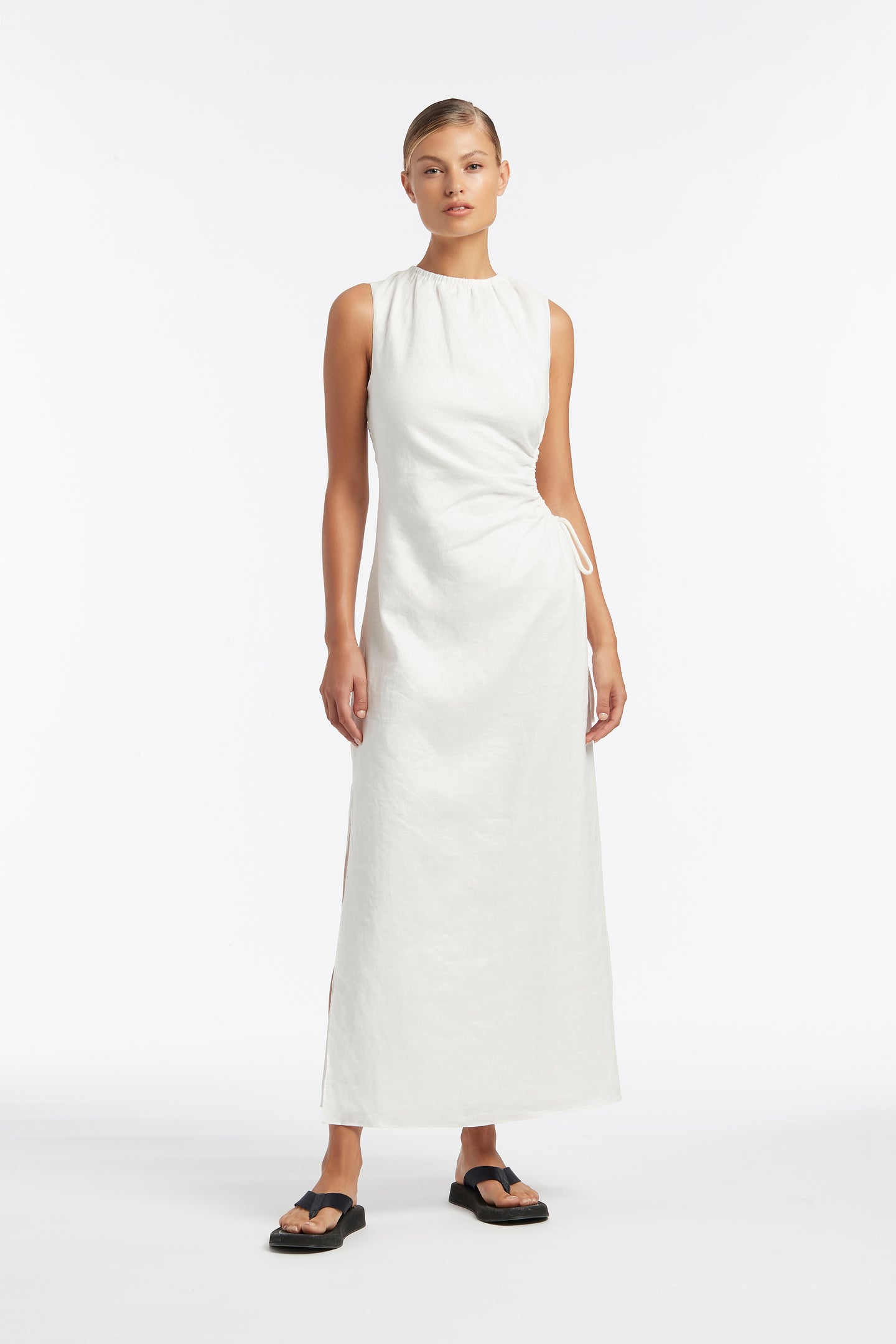 SIR the label BLANCHE CUT OUT DRESS IVORY