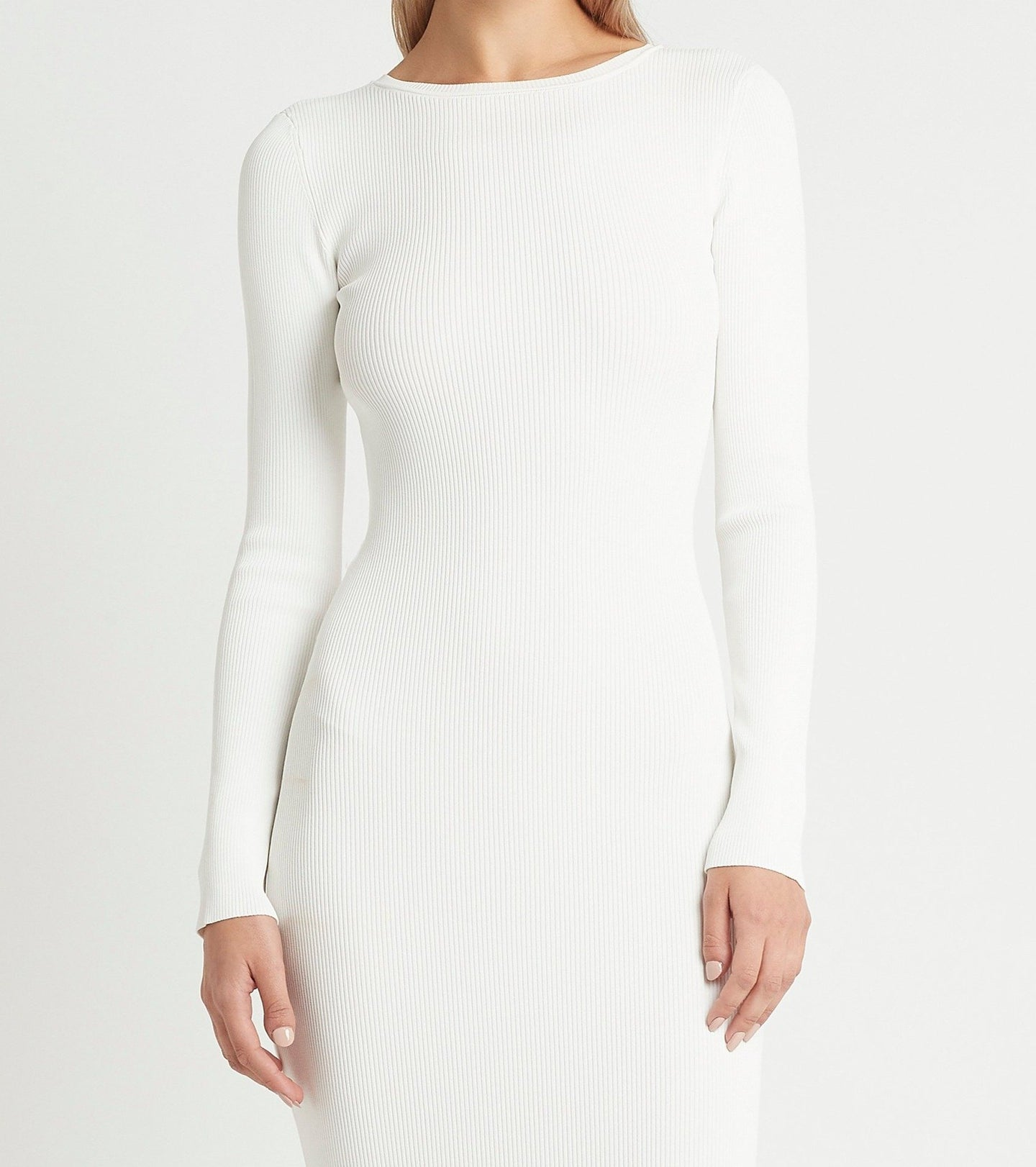 SIR the label CELLE REVERSIBLE DRESS IVORY
