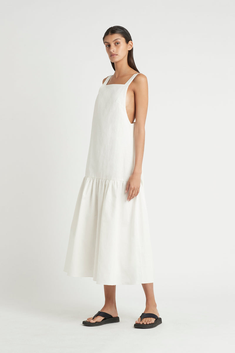 SIR the label MARTINE MAXI DRESS IVORY