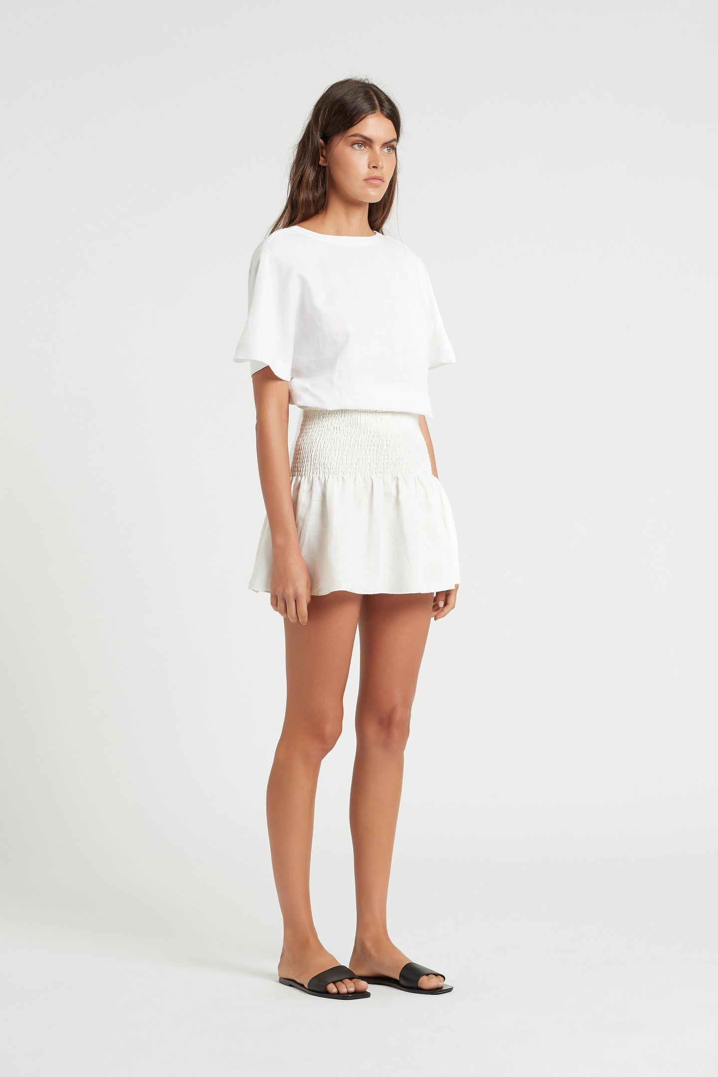 SIR the label BROOKE WRAP TOP WHITE