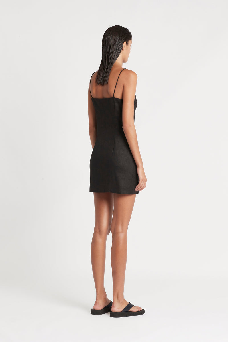 SIR the label INEZ MINI DRESS BLACK