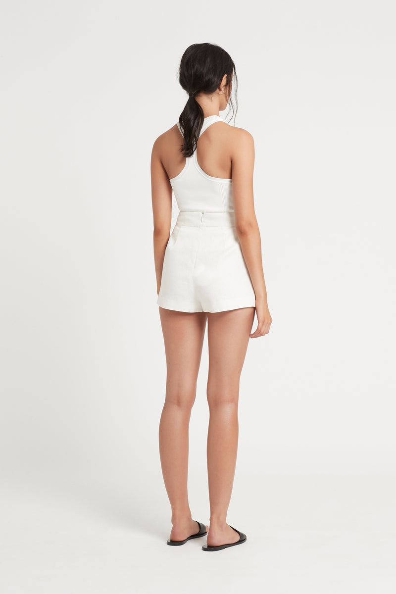 SIR the label PASCALE SHORT IVORY