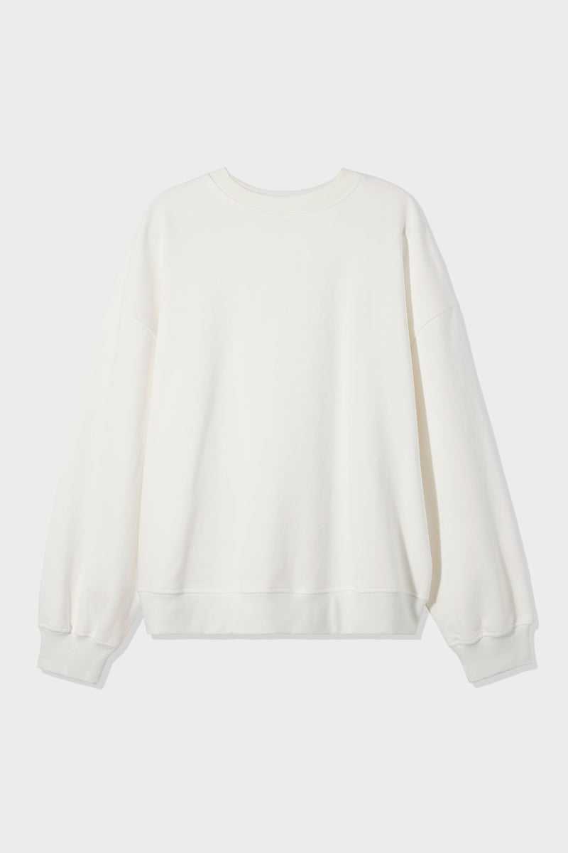 SIR the label UNISEX CREW NECK SWEATER IVORY
