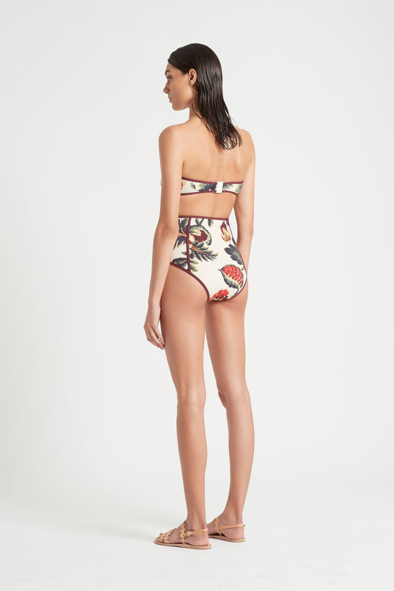 SIR the label AMBROISE PANELLED BRIEF AMBROISE PRINT