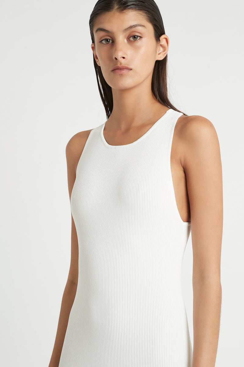 SIR the label MARCELLE OPEN BACK DRESS IVORY