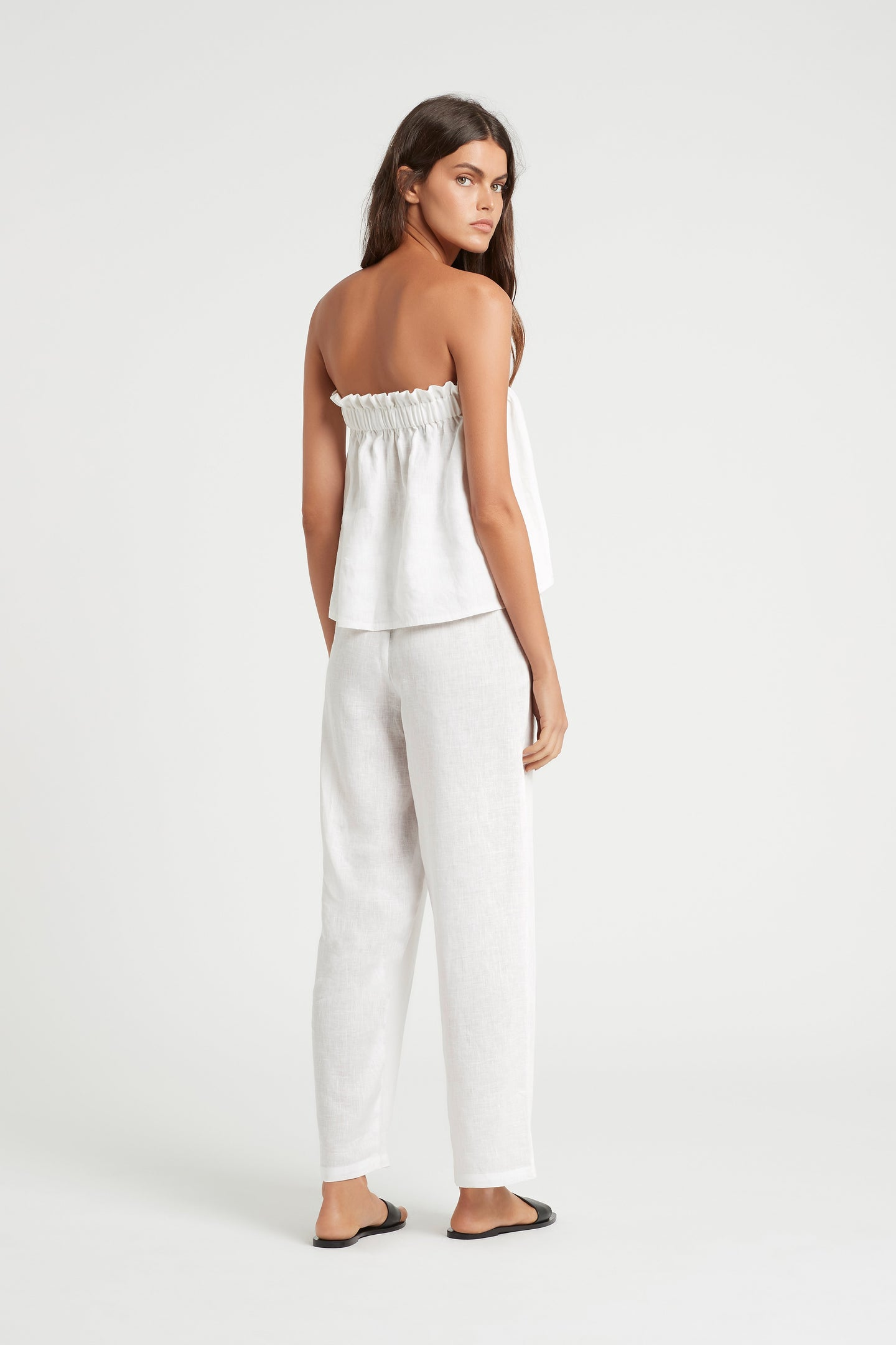SIR the label ANOUK RELAXED PANT WHITE
