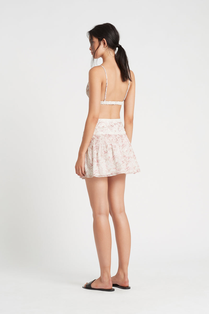SIR the label CAPRICE WRAP MINI SKIRT CAPRICE PRINT