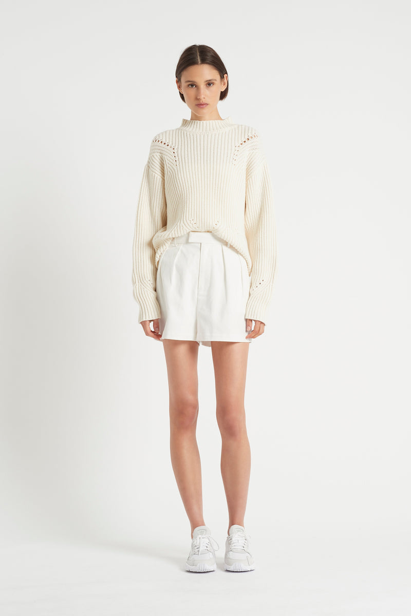 FRANCA POINTELLE SWEATER