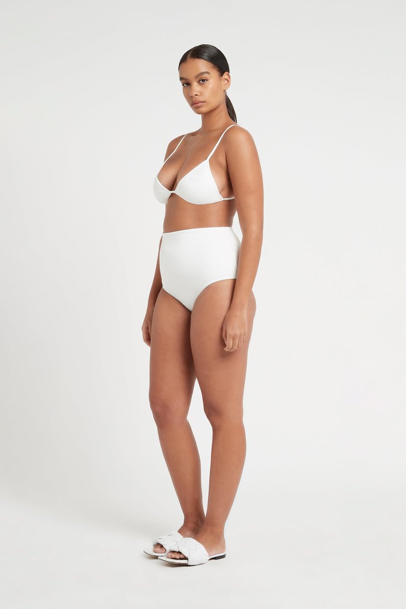 SIR the label LOUIS CLASSIC HIGH BRIEF IVORY