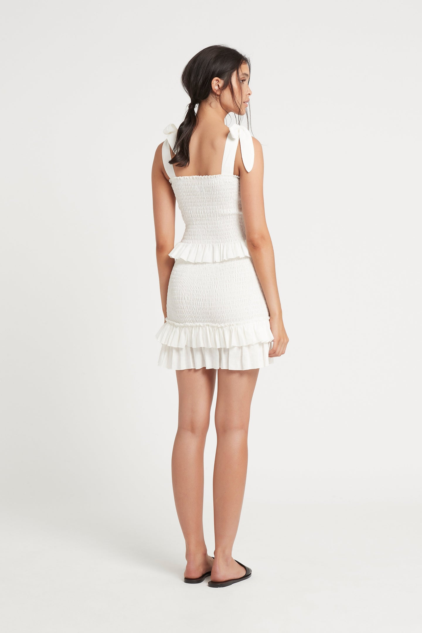 SIR the label EMILE MINI SKIRT IVORY