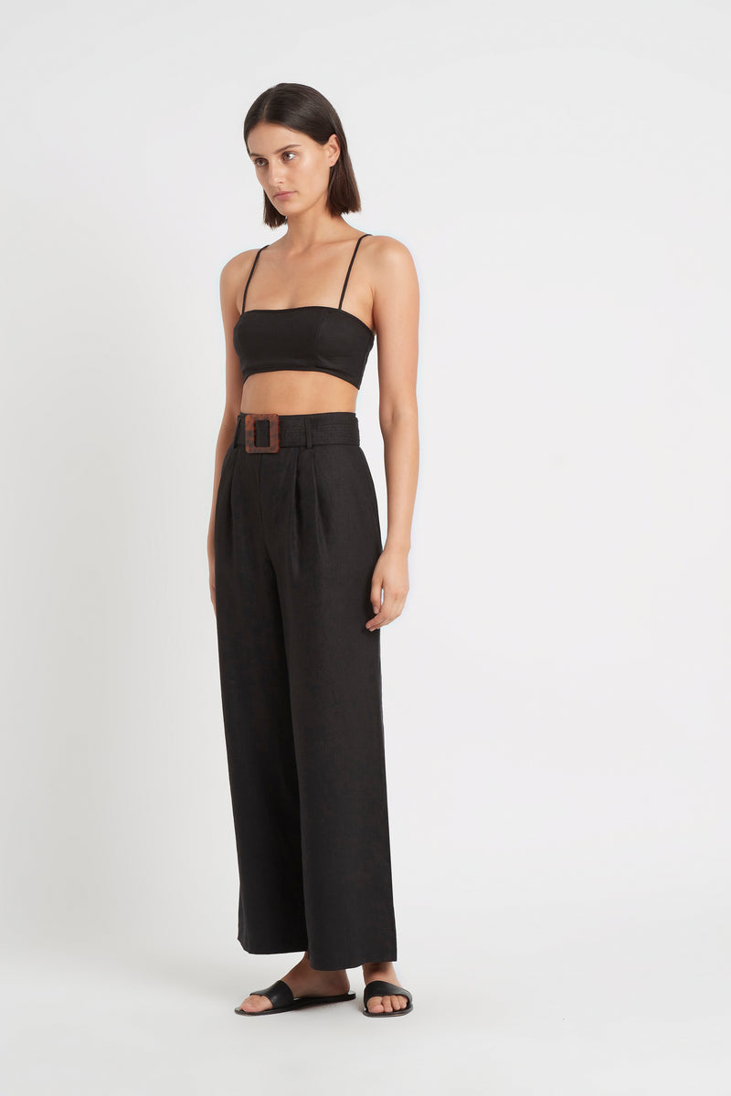 SIR the label PASCALE PANT BLACK