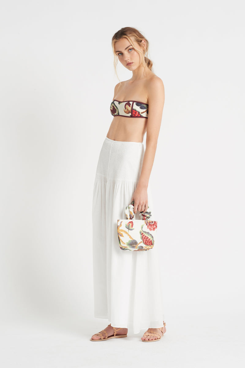 SIR the label AMBROISE PANELLED BANDEAU AMBROISE PRINT