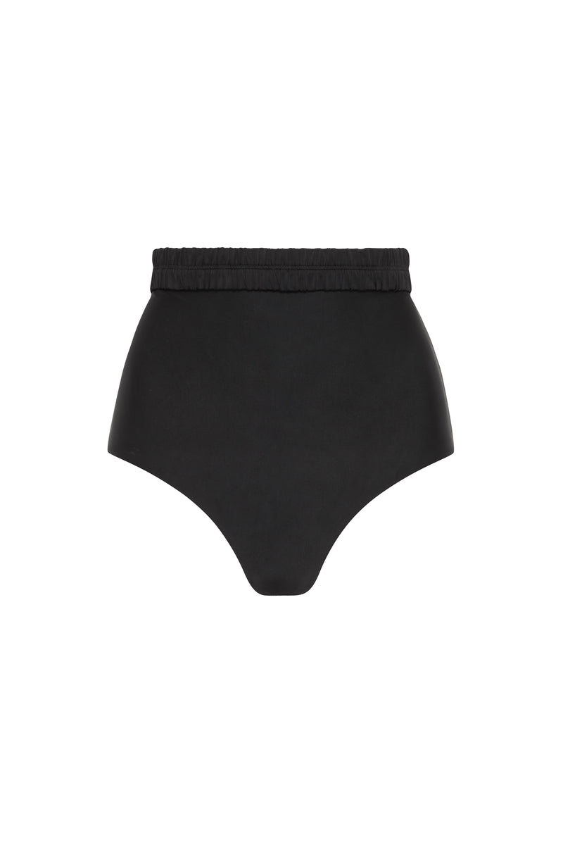 SIR the label HENDRY GATHERED HIGH BRIEF BLACK