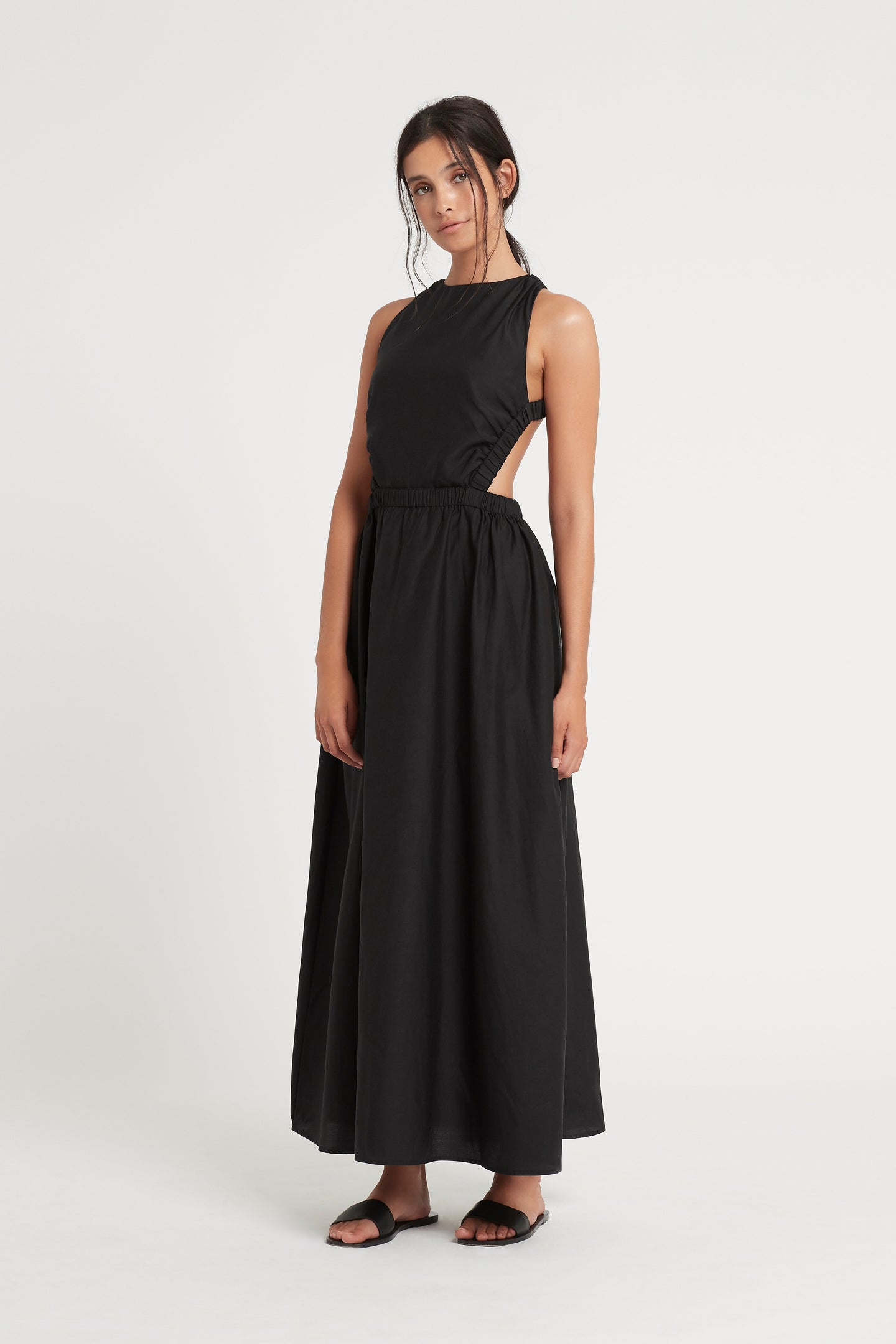 SIR the label ARAMIS MAXI DRESS BLACK