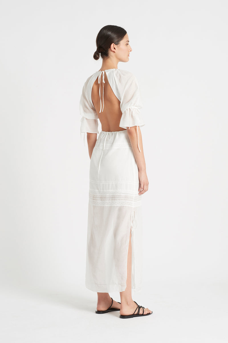 MAISIE OPEN BACK GOWN
