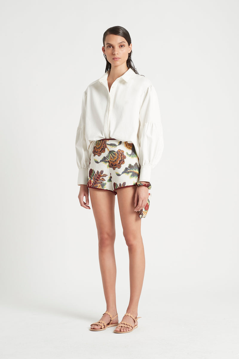 SIR the label SIGRID SHORT AMBROISE PRINT