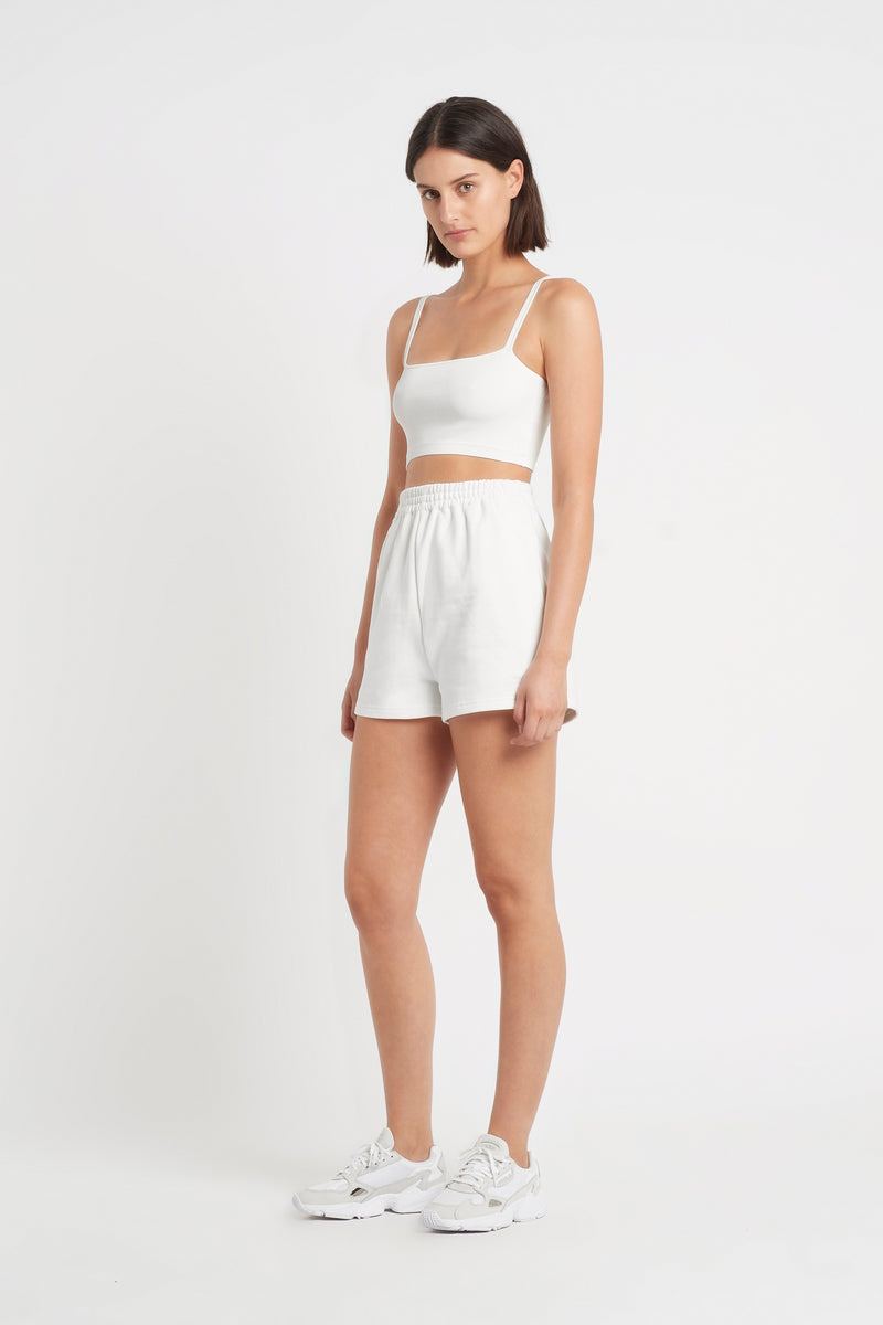SIR the label INGRID CROP IVORY