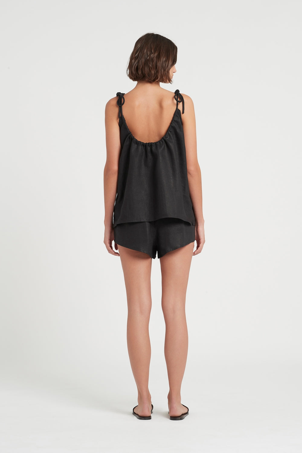 SIR the label LILA TIE TOP BLACK