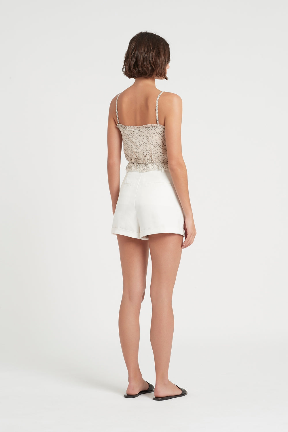 SIR the label SABINE SHORT IVORY
