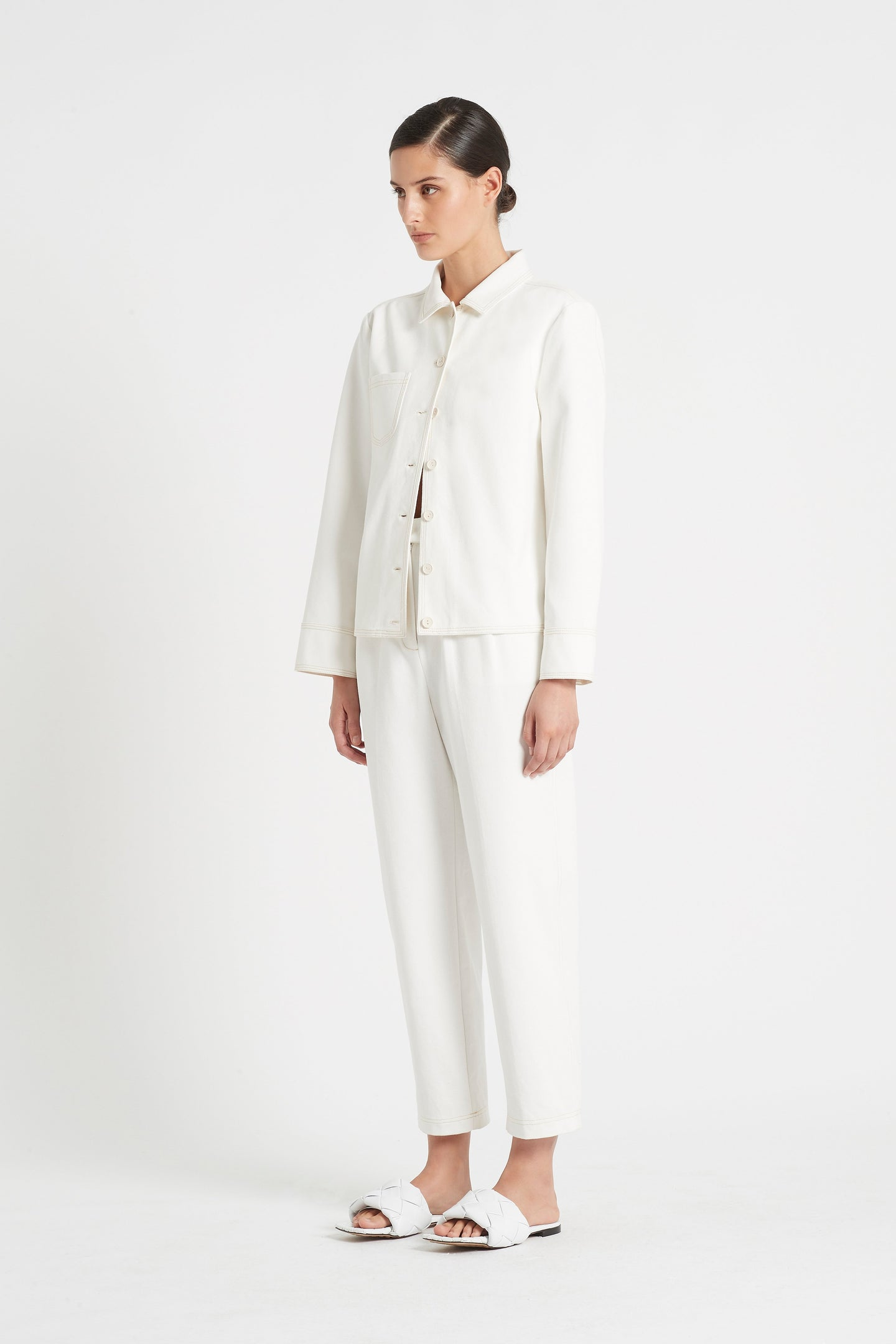 SIR the label MAURICE PANT IVORY