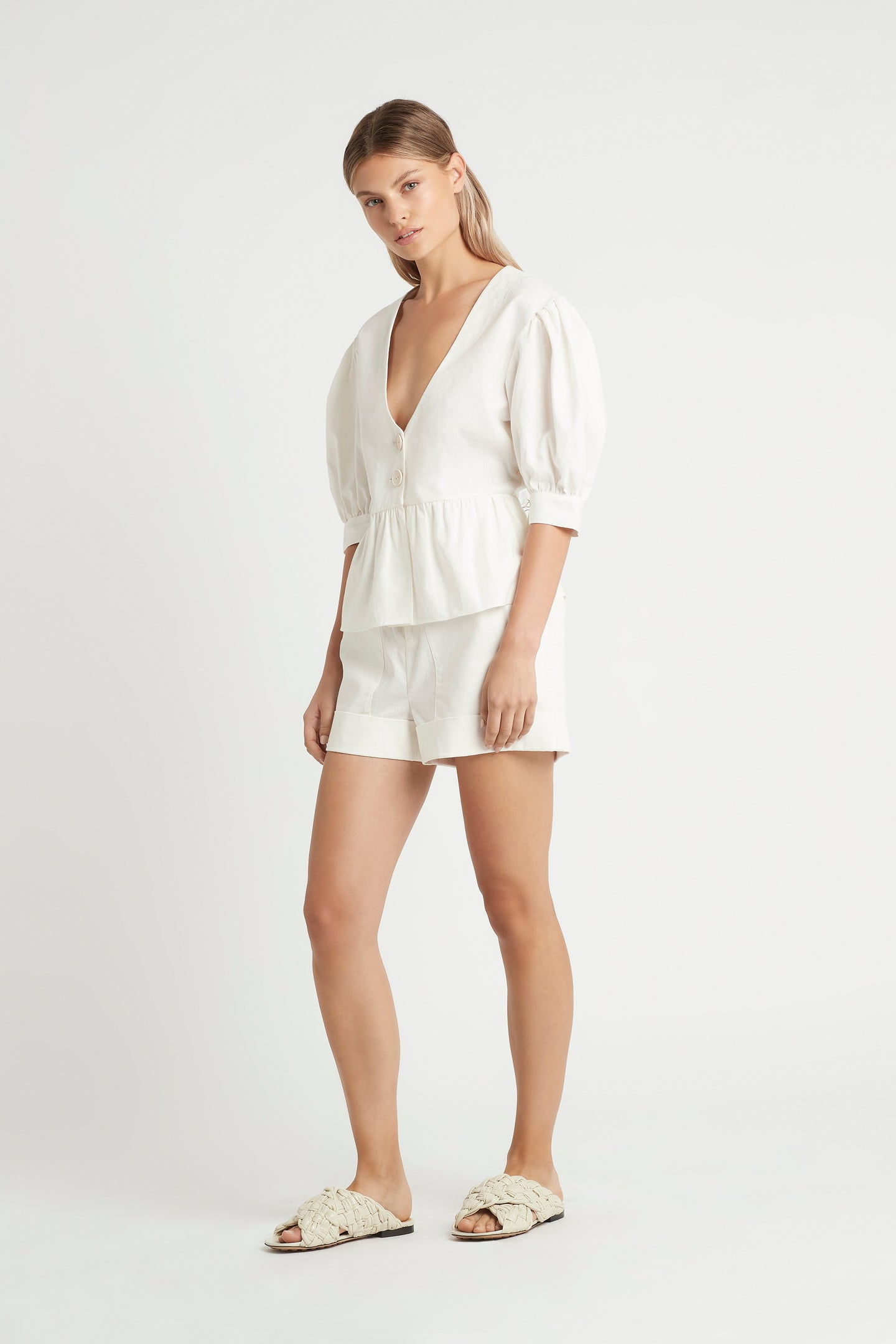 SIR the label MARTINE TOP IVORY