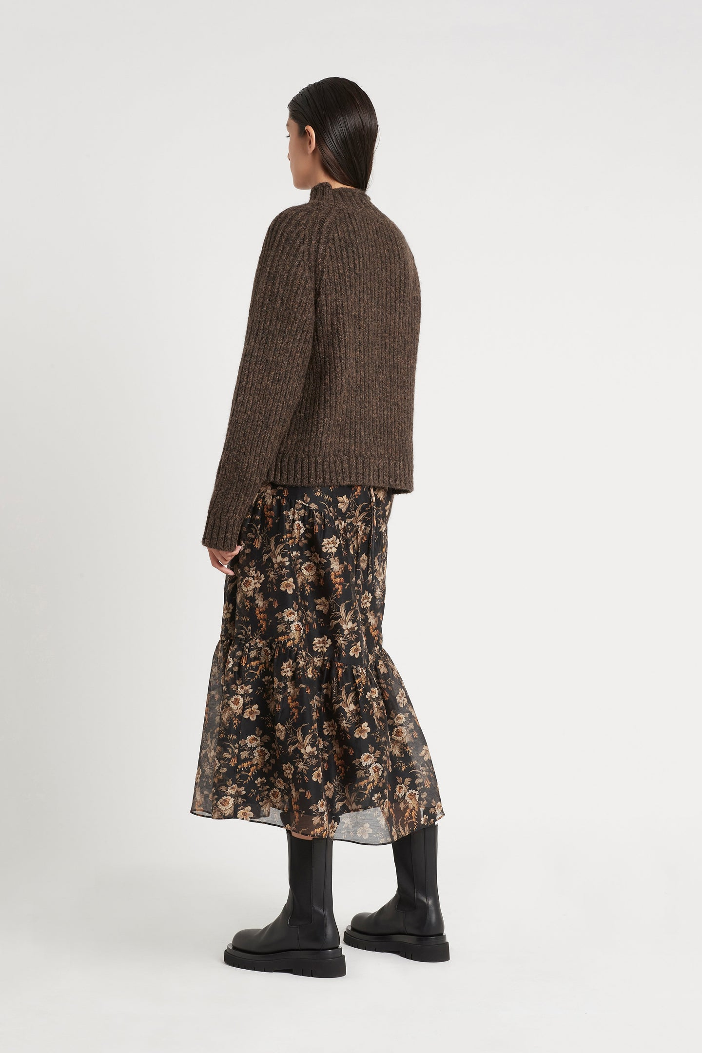 SIR the label MATTI CABLE SWEATER TIMBER