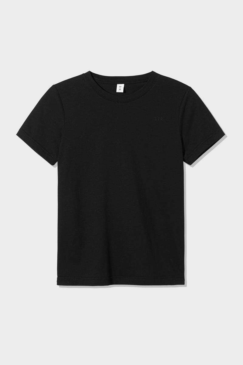 SIR the label WOMENS FITTED TEE BLACK