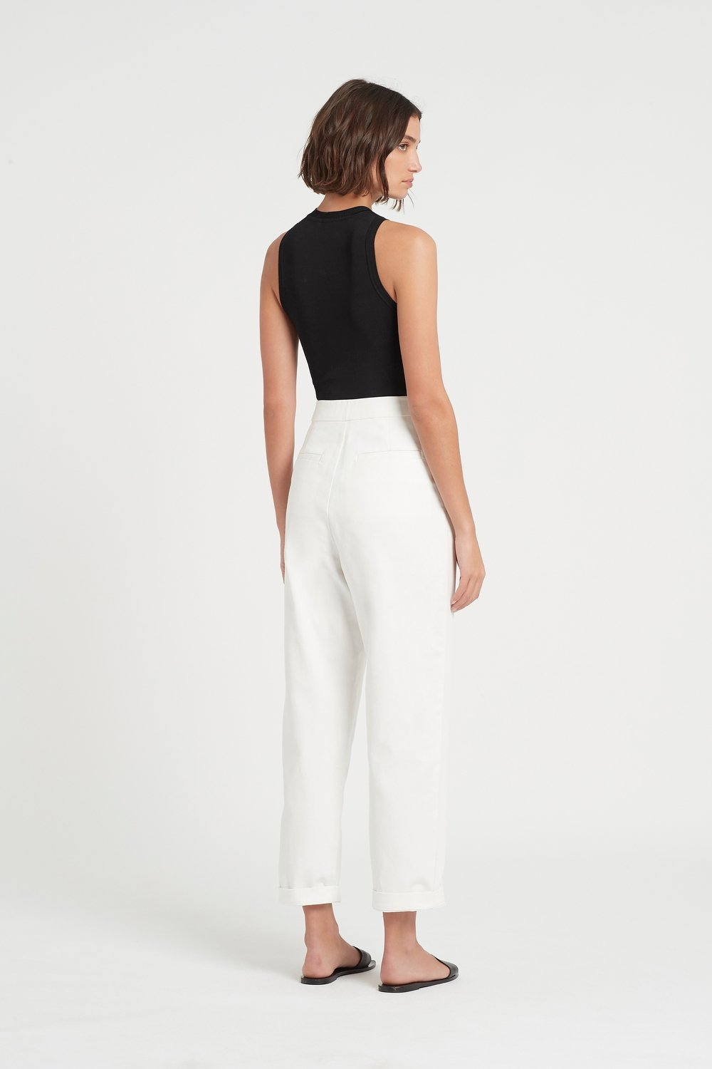 SIR the label SABINE PANT IVORY