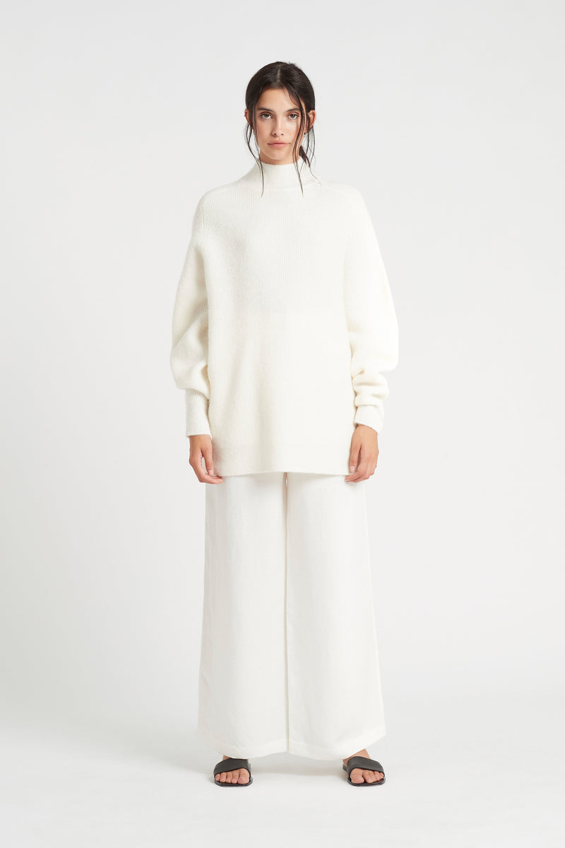 SIR the label YASMINE PANT IVORY