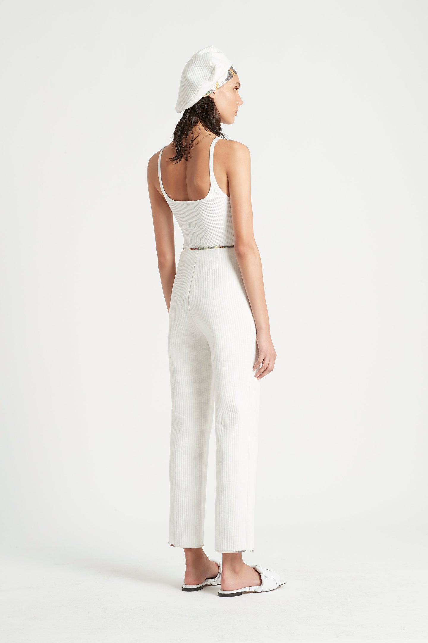 SIR the label SIGRID PANT IVORY