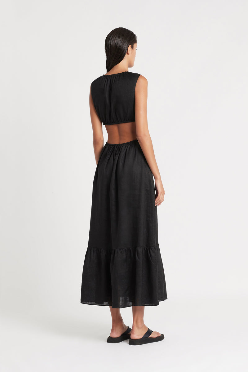 LILA CUT OUT GOWN