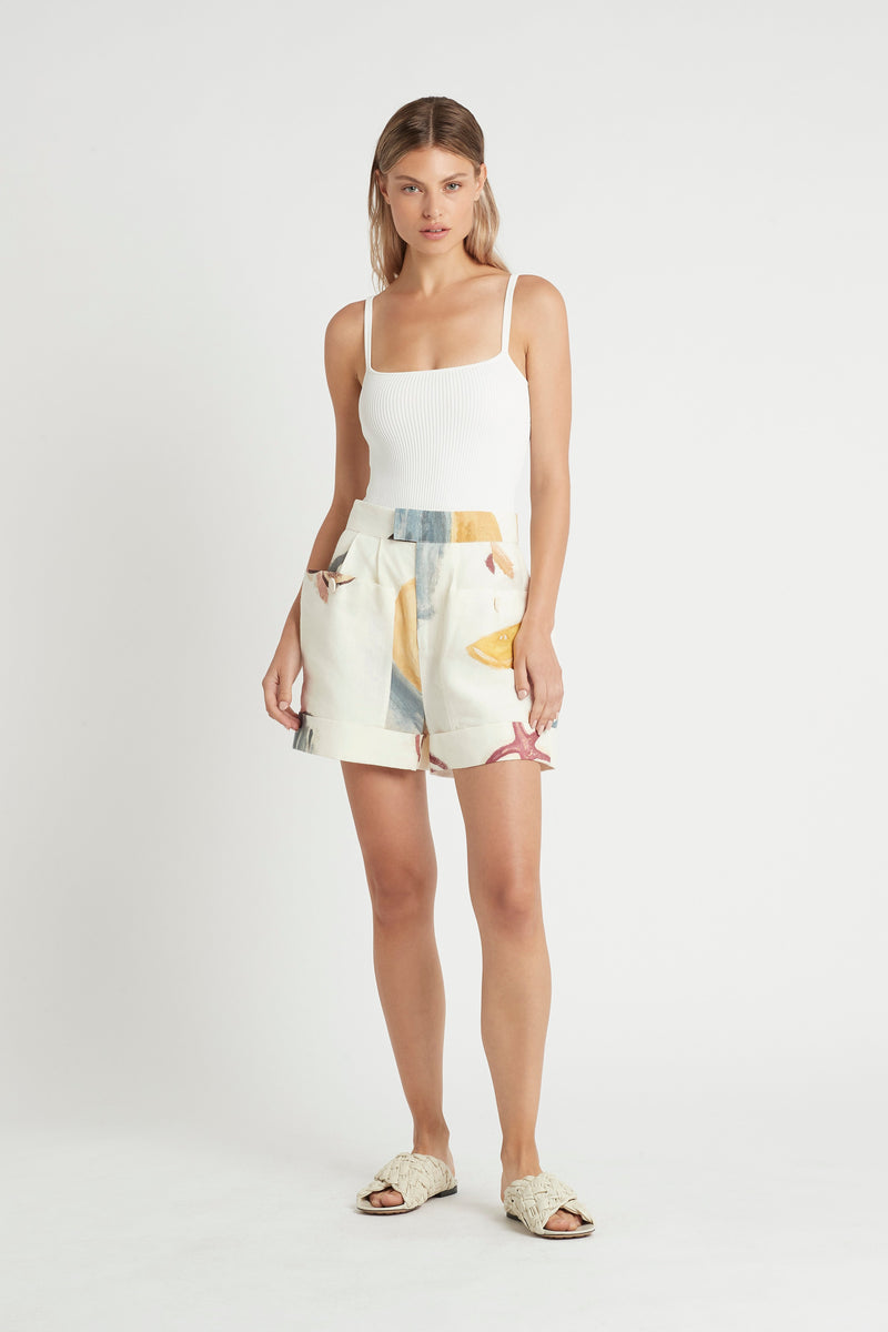 SIR the label MARTINE SHORT MARTINE PRINT