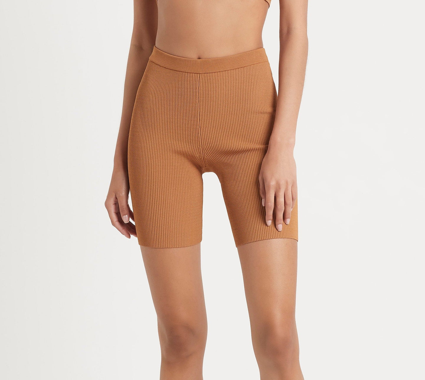 SIR the label JASPER SHORT TWO-COLOUR CAMEL
