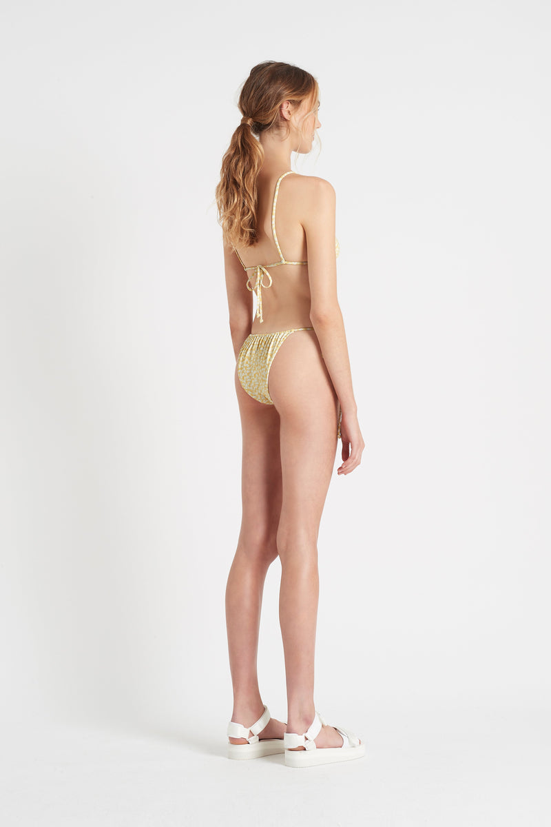 SIR the label ANAIS STRING BRIEF YELLOW ANAIS PRINT