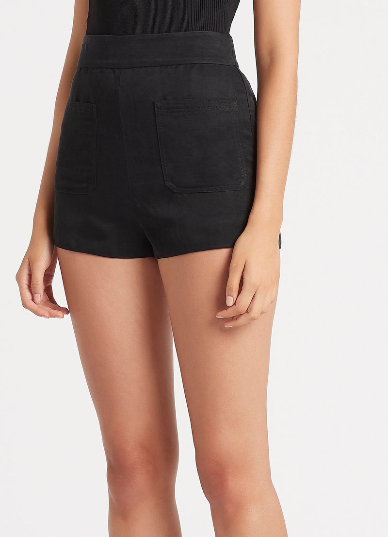 SIR the label PASCALE SHORT BLACK