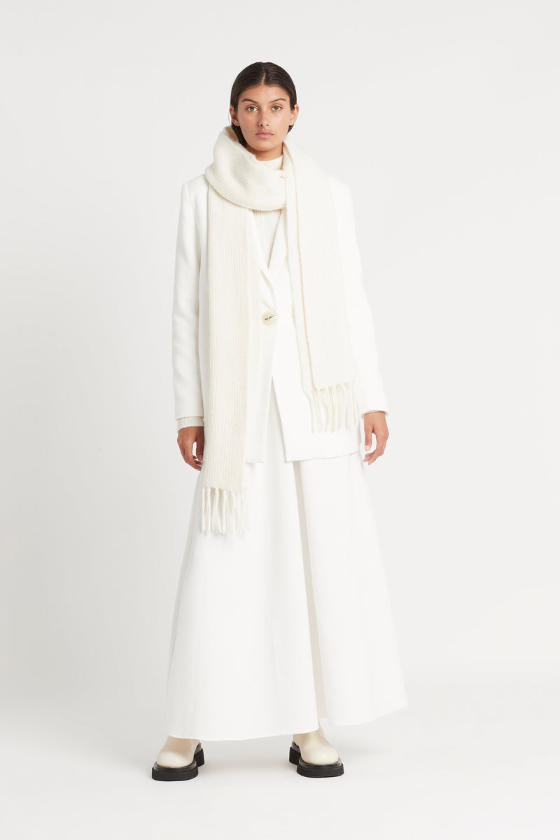 SIR the label YVES MAXI SKIRT IVORY